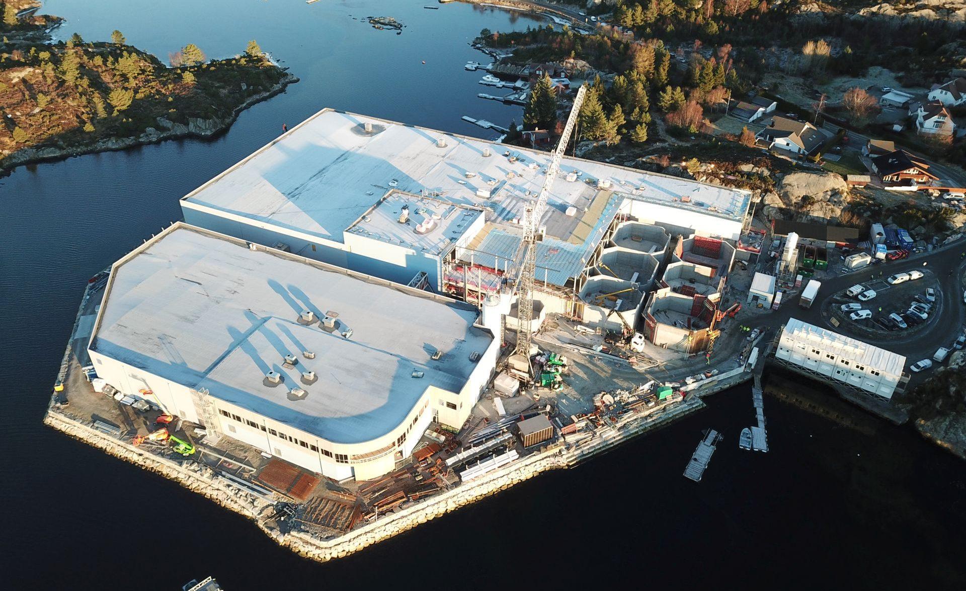 Sjøtroll Settefiskanlegg - Total Betong AS