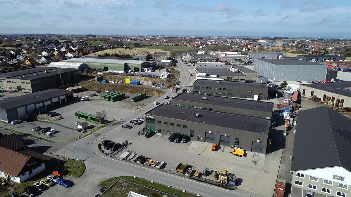 Total Betong AS - Næringsbygg i Vardheia, Nordlysvegen 1